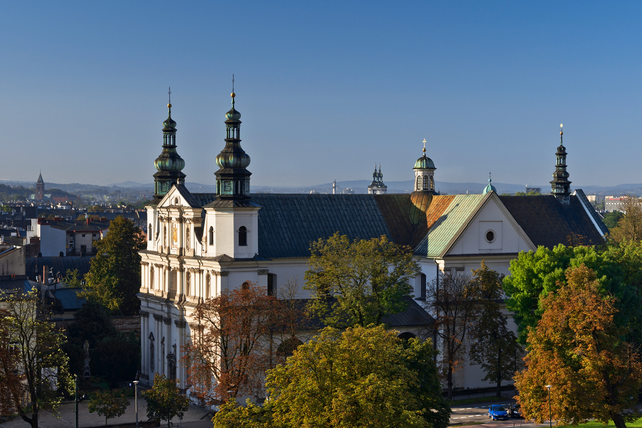 klasztor Kraków Bernardyni