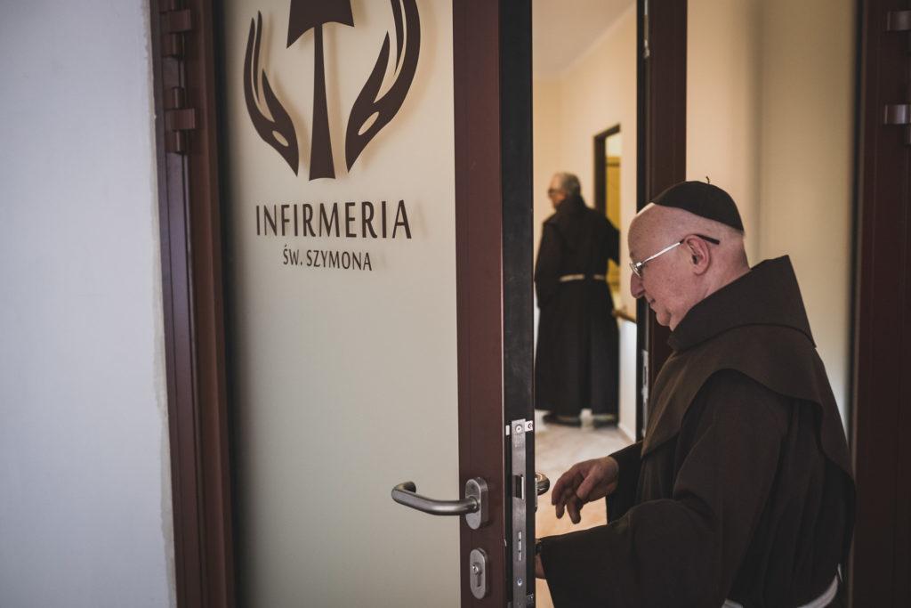 infirmeria - poświęcenie